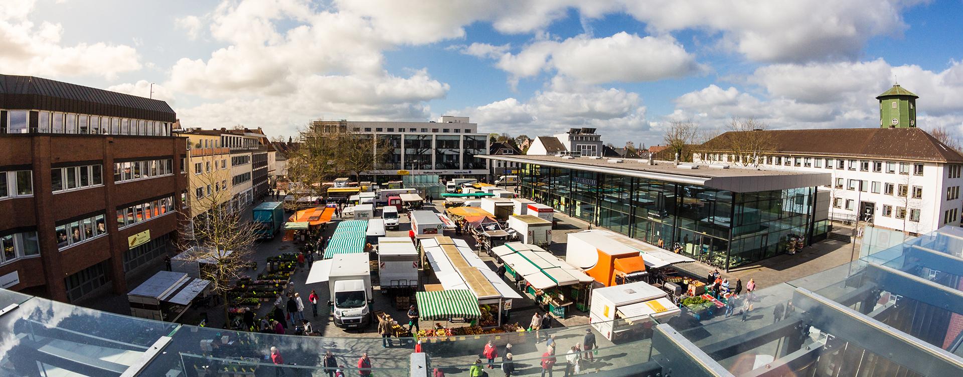 Wochenmarkt Vegesack - vegesack.de