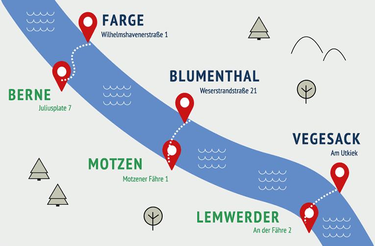 Weserfähren - vegesack.de