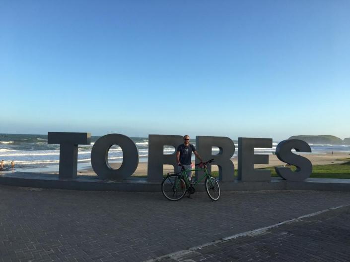 Ein Vegesacker Junge reist mit dem Fahrrad um die Welt - vegesack.de